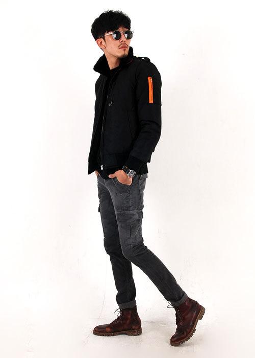 9ccc866220b 첫번재 남자겨울코디 항공점퍼+골덴바지 남자겨울패션 입니다!!