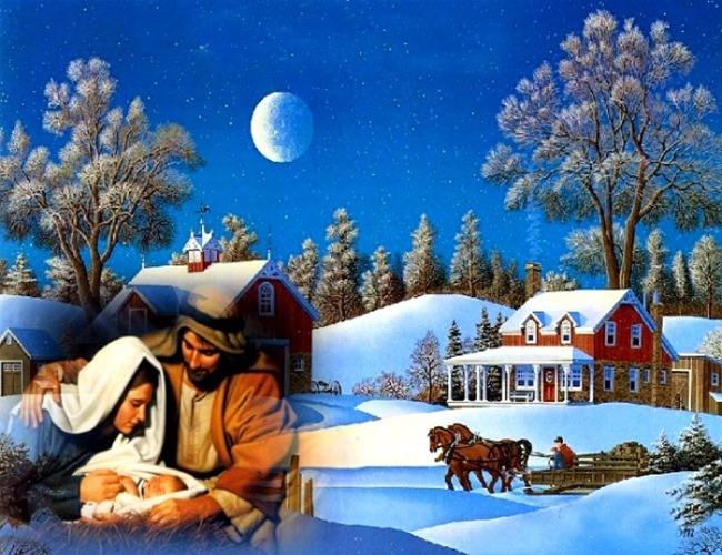 圣诞图片 - 空山鸟语 - 月滿江南
