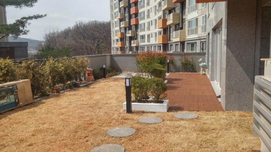 더숲의 정원이야기 :: 더숲] 서울 서초구 A 아파트 테라스 하우스 ...