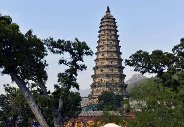 중국4대고탑: 산서홍동(山西洪洞)의 비홍탑(飛虹塔)