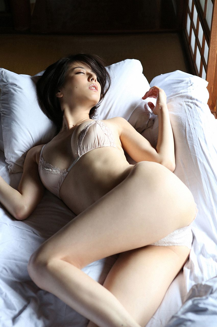 hot Japanese girl in sexy pose