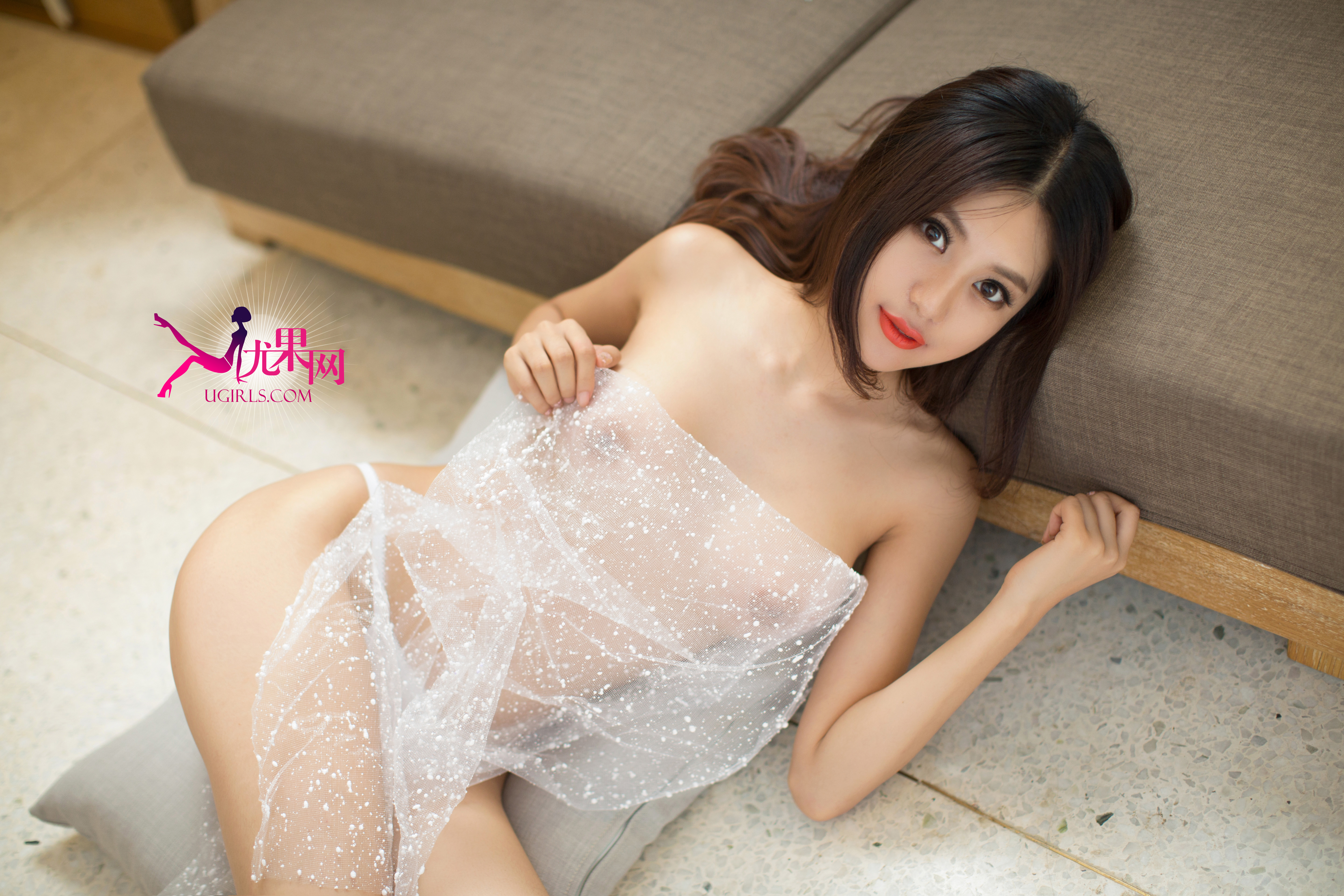 hot Chinese girl in sexy wear